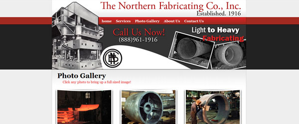 Cleveland Web Design Portfolio ScreenShot